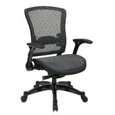 Professional R2 Space Grid Back Chair with Flip Arms