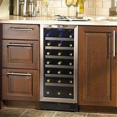 Silhouette 34 Bottle Built-In Wine Cooler