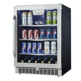 Silhouette 5.3 cu.ft. Built-In Beverage Center