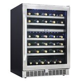 Silhouette 51 Bottle Built-In Dual Zone Wine Cooler