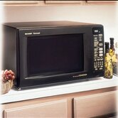Countertop Convection Microwave in Black w/ Optional Built-In Trim Kit