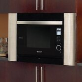 SuperSteam Convection Oven / Microwave in Black with Optional Trim Kit