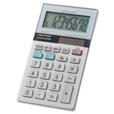 Twin-Powered Basic Hand-Held Calculator