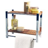 Bathroom Wall Storage Shelf / Towel Rail