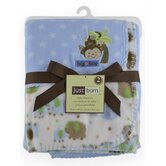 Just Born 2 Pack Fleece Blanket