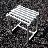 Aluminum Accent Stool