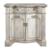 Mansion Fluted Pilaster Cabinet
