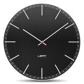 One Wall Clock with Black Index Dial