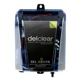 Del Clear Above Ground Ozonator in Black