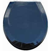 Premium Wood Toilet Wood Seat in Metallic Black