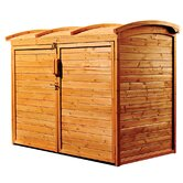 Refuse Wood Storage Shed