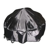 PVC Coated Oxford Fabric Round Fire Pit Cover