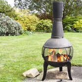 Tuscan Glo Chiminea