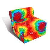 Fun Factory Twin Summer Tye Dye Studio Kid's Chair