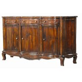 Serpentine Plank Top Sideboard