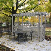 Half Room Pergola