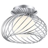 Thebe 1 Light Semi Flush Ceiling Light