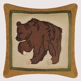 Bear Quilt Pillow