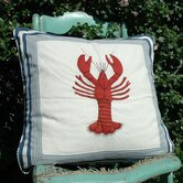 Lobster Porch Pillow
