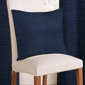 Rib Plain Cushion Cover in Navy