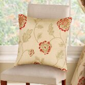Poppy Trail Cushion Cover in Red