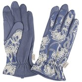 Indigo Berries Blue Print Glove, Hat and Apron Set