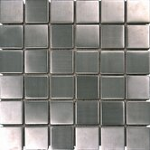 "2"" x 2"" Metal Mosaic in Silver"