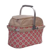 4 Person Picnic Hamper in Sorrento Red