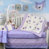 Lavender Flower Garden Baby 14 Piece Crib Nursery Bedding Set