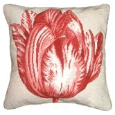 Tulip Needlepoint Pillow