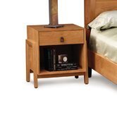 Mansfield 1 Drawer Nightstand with Shelf
