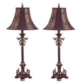 Caressa Table Lamp (Set of 2)