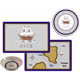 Kids Tabletop Plate and Placemat Set