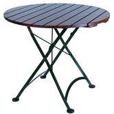 "European Café 32"" Folding Table"
