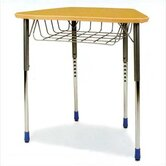 Zuma Plastic Trapezoid Desk