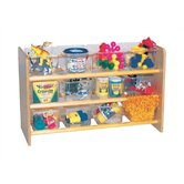 See-All Storage Unit with 12 Clear Trays