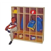 5-Section Seat Locker (54&quot; x 48&quot;)