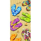 Sandals Beach Towel