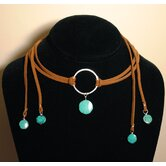 Sterling Silver  Turquoise &quot;Breakfast on Melrose&quot; Necklace