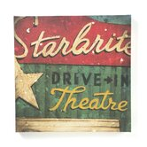 Drive-in Theater Gallery Wrapped Canvas Art