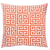 Greek Key Towers Indoor/Outdoor Pillow