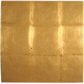 Convex Block Gold Wall Art
