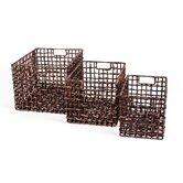 New Rustics Home Decorative Baskets, Bowls & Boxes