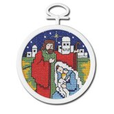 Nativity Counted Cross Stitch