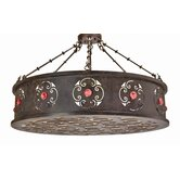 Julianne 6 Light Drum Pendant