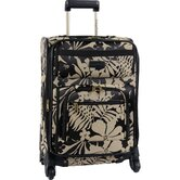 "Gem 20"" Expandable Spinner Suitcase"