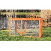 Outdoor Chicken Run with Mesh Cover