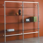 "Envision® 84"" H Four Shelf Add-On Section Storage System with 4 Shelves"