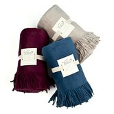 Luxury  Fleece Silk Throw