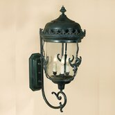 3 Light Gryphon Outdoor Wall Lantern